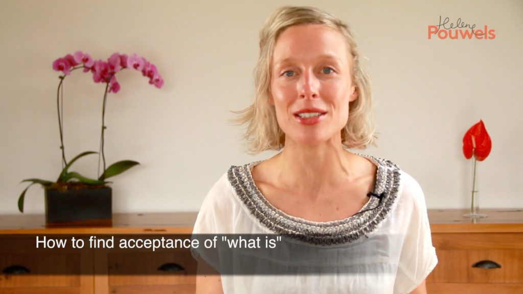 Helene discuss acceptance tips