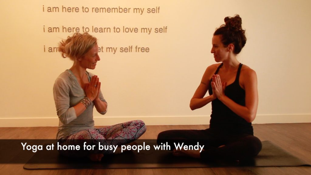 yoga with Wendy