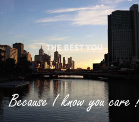 Because I know you care thumbnail